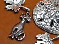 Afbeelding voor categorie Metalen bedeltjes en hangertjes